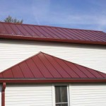 Standing Seam Metal Roof, New front Porch